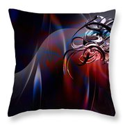 Geometric 6 Throw Pillow by Mark Ashkenazi