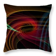 Geometric 8 Throw Pillow by Mark Ashkenazi