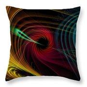Geometric 9 Throw Pillow by Mark Ashkenazi