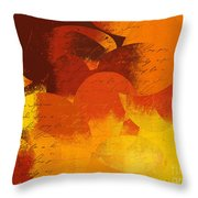 Geomix 05 - 01at02 Throw Pillow by Variance Collections