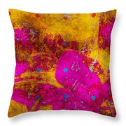 Gerberie - Fst01bca Throw Pillow by Variance Collections