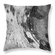 Getaway Jar b/w Throw Pillow by Martin Howard