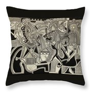 Gift To The Dead Throw Pillow by Michael Kulick