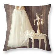 Girl's Bedroom Throw Pillow by Amanda And Christopher Elwell