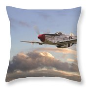 Glamorous Gal Throw Pillow by Pat Speirs
