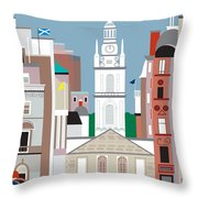 Glasgow Throw Pillow by Karen Young