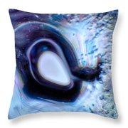 Glass Eye Throw Pillow by Omaste Witkowski