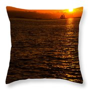 Glimmer Throw Pillow by Chad Dutson