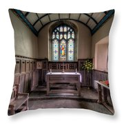 Glory Of God Throw Pillow by Adrian Evans