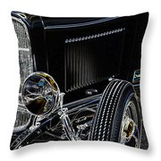Glowing Deuce Throw Pillow by Steve McKinzie