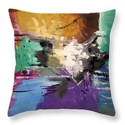 God Is Love Throw Pillow by Anthony Falbo