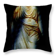 Goddess Of The Night Throw Pillow by Diana Angstadt