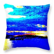 Going anywhere Throw Pillow by Hilde Widerberg