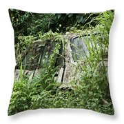 Going Nowhere Throw Pillow by Marion Galt