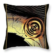 Golden Nile Throw Pillow by Cindy McClung