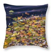 Gone With The Water Throw Pillow by Alexander Senin