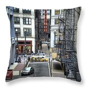 Goodman Chicago Throw Pillow by Scott Norris
