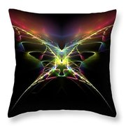Gossamer Wings Throw Pillow by Greg Moores