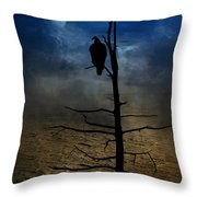 Gothic Landscape Throw Pillow by Andrea Kollo