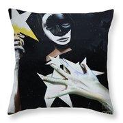 Graffiti Art Curitiba Barazil 13 Throw Pillow by Bob Christopher