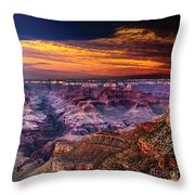 Grand Canyon  Arizona Throw Pillow by Ludmila Nayvelt