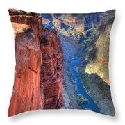 Grand Canyon Awe Inspiring Throw Pillow by Bob Christopher