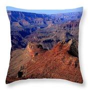 Grand Canyon  Throw Pillow by Aidan Moran