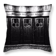 Grand Ole Opry House Throw Pillow by Dan Sproul