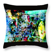 Grand Slam Throw Pillow by Brian Reaves