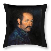 Grant Throw Pillow by Donna Tucker