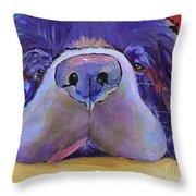 Graysea Throw Pillow by Pat Saunders-White