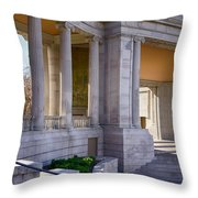 Greek Theatre 7 Throw Pillow by Angelina Vick
