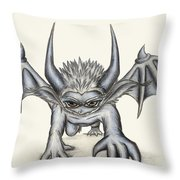 Grevil Throw Pillow by Shawn Dall