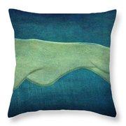 Greyhound Throw Pillow by Sandy Keeton