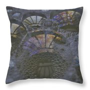 Groovy Throw Pillow by Luke Moore