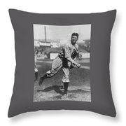Grover Cleveland Alexander 1915 Throw Pillow by Unknown