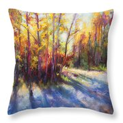 Growth Throw Pillow by Talya Johnson