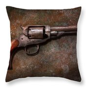Gun - Police - Dance For Me Throw Pillow by Mike Savad