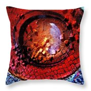 HAL Throw Pillow by Skip Hunt