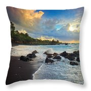Hana Clouds Throw Pillow by Inge Johnsson