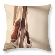 Hanging In The Moment Throw Pillow by Amy Weiss
