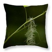 Hanging On Throw Pillow by David Kehrli