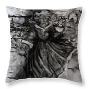 Happiness Throw Pillow by Laurie D Lundquist