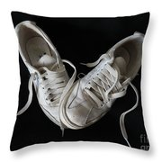 Happy Days Throw Pillow by Marcia Lee Jones