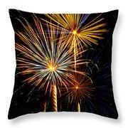 Happy Fourth Of July   Throw Pillow by Saija  Lehtonen