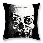Happy Halloween Throw Pillow by John Malone