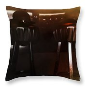 Happy Hour Throw Pillow by Jasna Buncic
