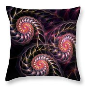 Happy Lights Throw Pillow by Anastasiya Malakhova