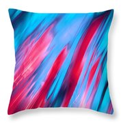 Happy Together Left Side Throw Pillow by Dazzle Zazz