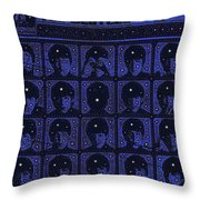 Hard Days Night Throw Pillow by Russell Pierce